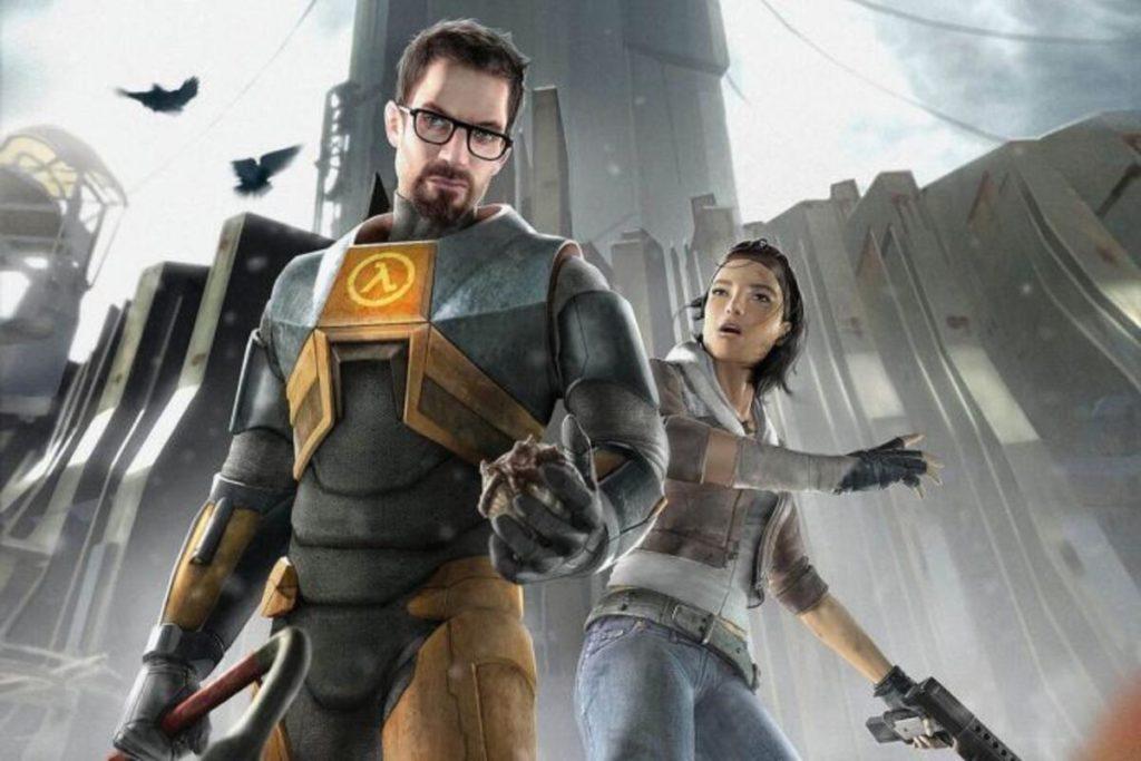 Half Life Alyx and Gordon