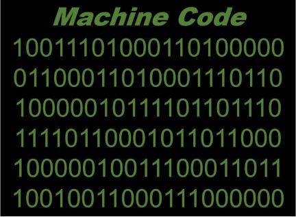 Yazoşım dili çeşitleri makine dili