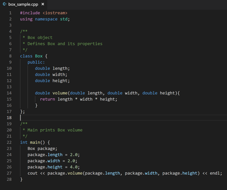 yazılım dili C++