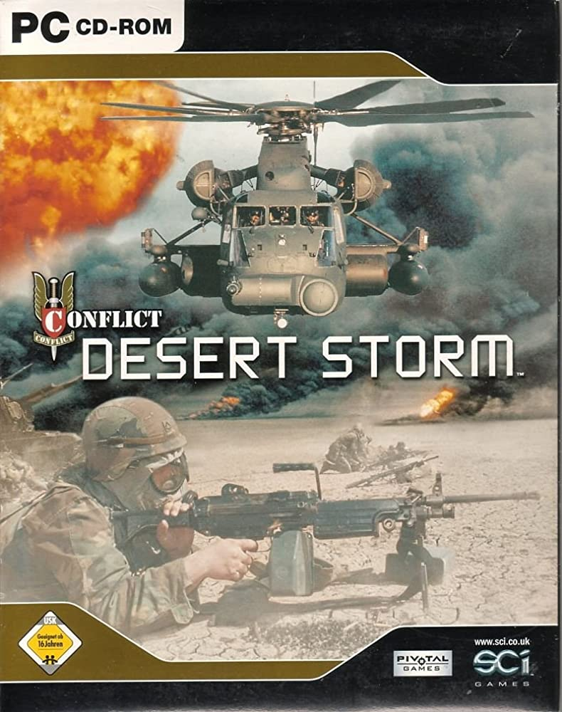 Düşük Sistem Gereksinimli Oyunlar Conflict: Desert Storm