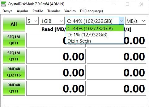 SSD OKUMA YAZMA HIZI ÖĞRENME
