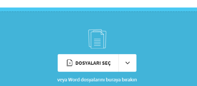 PDF Word Dönüştürme